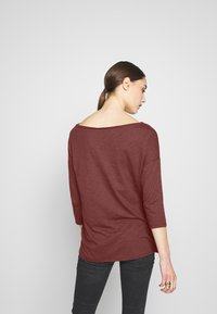 Sisley - Long sleeved top - bordeaux - 2
