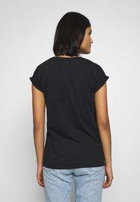Calvin Klein - TURN UP - T-paita - black - 2