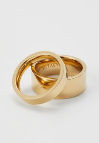 Vitaly - GRIP UNISEX SET - Ring - gold-coloured - 3