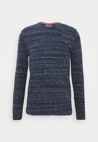 Superdry - Long sleeved top - midnight navy space dye - 4