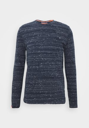 Long sleeved top - midnight navy space dye