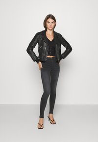 Monki - OVERA - Cardigan - black dark - 1