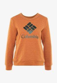 Columbia - LODGE CREW - Bluza - caramel - 3