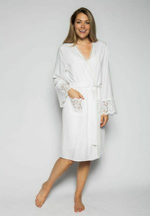 Dressing gown - white aoe