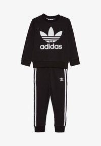 adidas Originals - CREW SET - Tracksuit - black - 3
