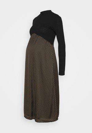 COSTINA - Vestito di maglina - black