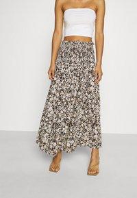 Bec & Bridge - FORBIDDEN FORREST SKIRT - Maxi skirt - black/pink - 0