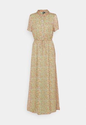VMKAY ANKLE SHIRT DRESS - Shirt dress - laurel green/petal