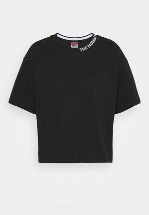 NEW CROP ZUMU TEE - Print T-shirt - black