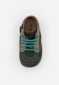 Kickers - BONZIP - Dětské boty - kaki/vert - 3