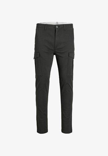 Pantaloni cargo - black