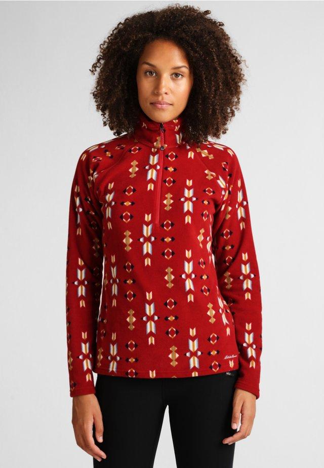 QUEST - Fleece jumper - crimson red