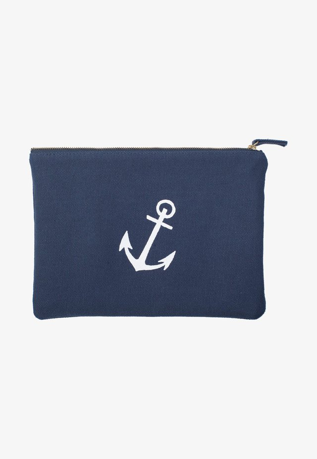 ZIPPER POUCH - Necessär - anchor