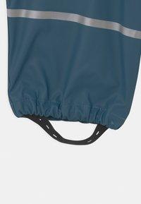 CeLaVi - BASIC RAINWEAR SOLID SET UNISEX - Rain trousers - iceblue - 4