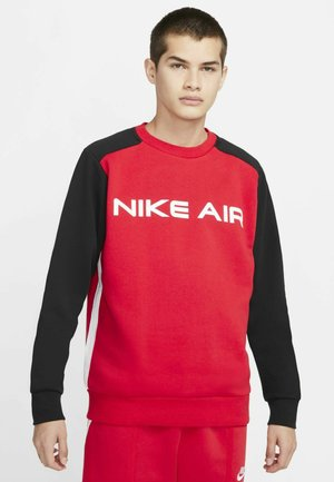 AIR CREW - Sweatshirt - university red black white