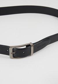 Pier One - LEATHER - Belt - black - 4