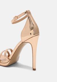 Steve Madden - BRYDGET - Platform sandals - rose gold - 5