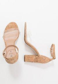 Call it Spring - TAYVIA  - High heeled sandals - natural - 3