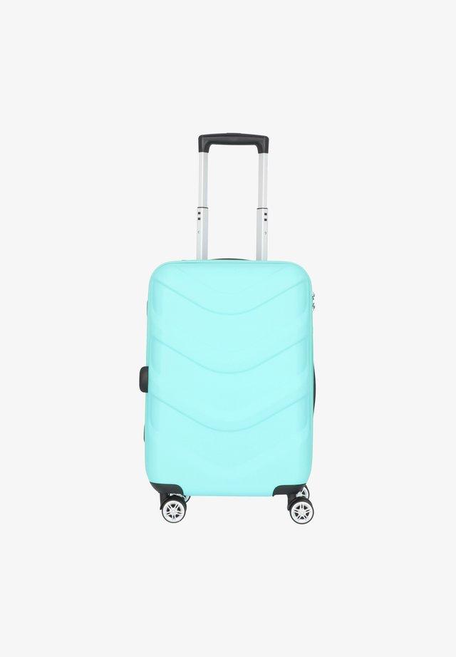 ARROW 2 4-ROLLEN KABINENTROLLEY 55 CM - Wheeled suitcase - türkis