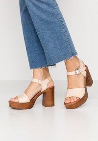 Musse & Cloud - UMA - High heeled sandals - beige - 0