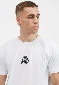 Kings Will Dream - KISHANE  - Print T-shirt - optic white - 4