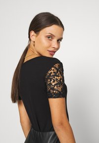 Anna Field Petite - Basic T-shirt - black - 3