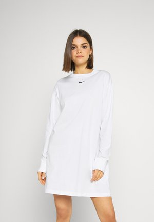 DRESS - Robe en jersey - white