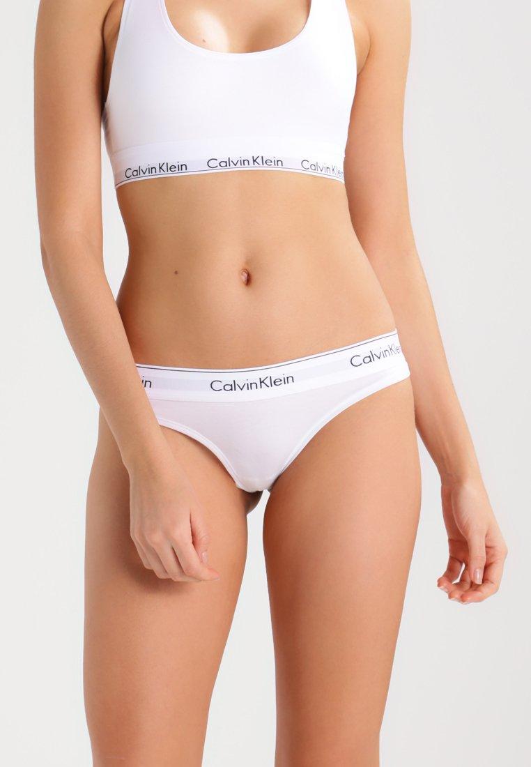 Calvin Klein Underwear - MODERN THONG - String - white