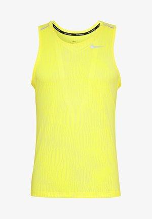 MILER JAQUARD  - T-shirt sportiva - opti yellow/white/silver