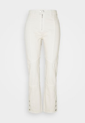 FELLA BIKER TROUSERS - Džíny Slim Fit - tinted ecru