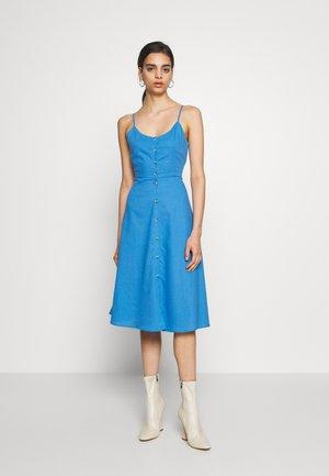 MIDSUMMER DRESS - Shirt dress - french blue
