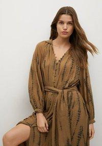 Mango - Shirt dress - braun - 2