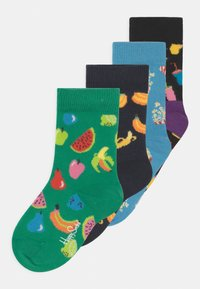 Happy Socks - FRUIT AND POPCORN 4 PACK UNISEX - Socks - multi - 0
