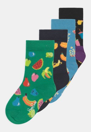 FRUIT AND POPCORN 4 PACK UNISEX - Socks - multi