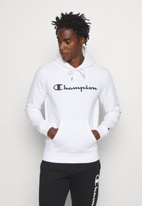 Champion - LEGACY HOODED - Hoodie - white - 0
