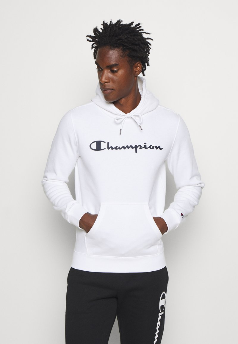 Champion - LEGACY HOODED - Hoodie - white