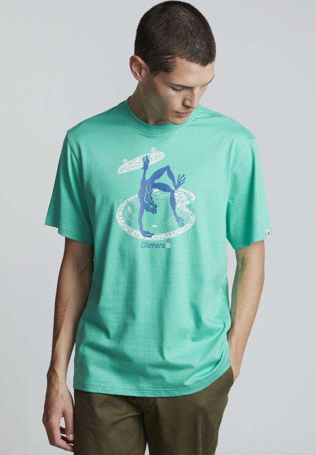 WHEELER - T-shirt print - mint