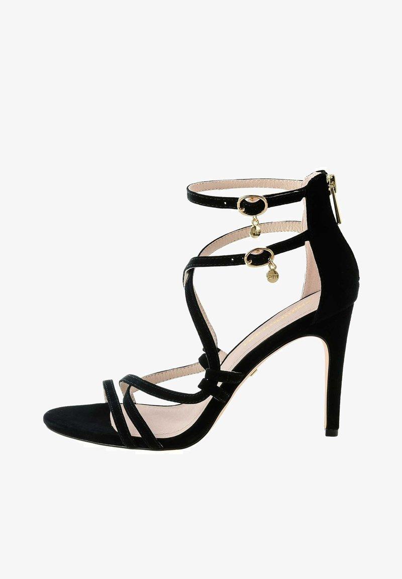 PRIMA MODA - TERZO - Sandály na vysokém podpatku - black