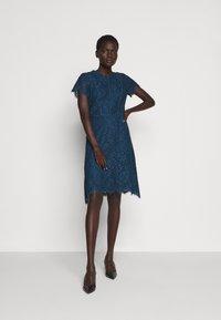 HUGO - KELIESE - Cocktail dress / Party dress - dark blue - 0