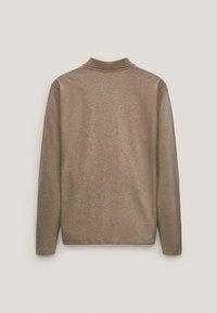 Massimo Dutti - MIT STRUKTURMUSTER  - Polo shirt - brown - 1