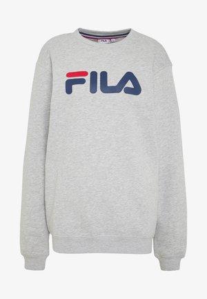 PURE CREW - Sweatshirt - light grey melange