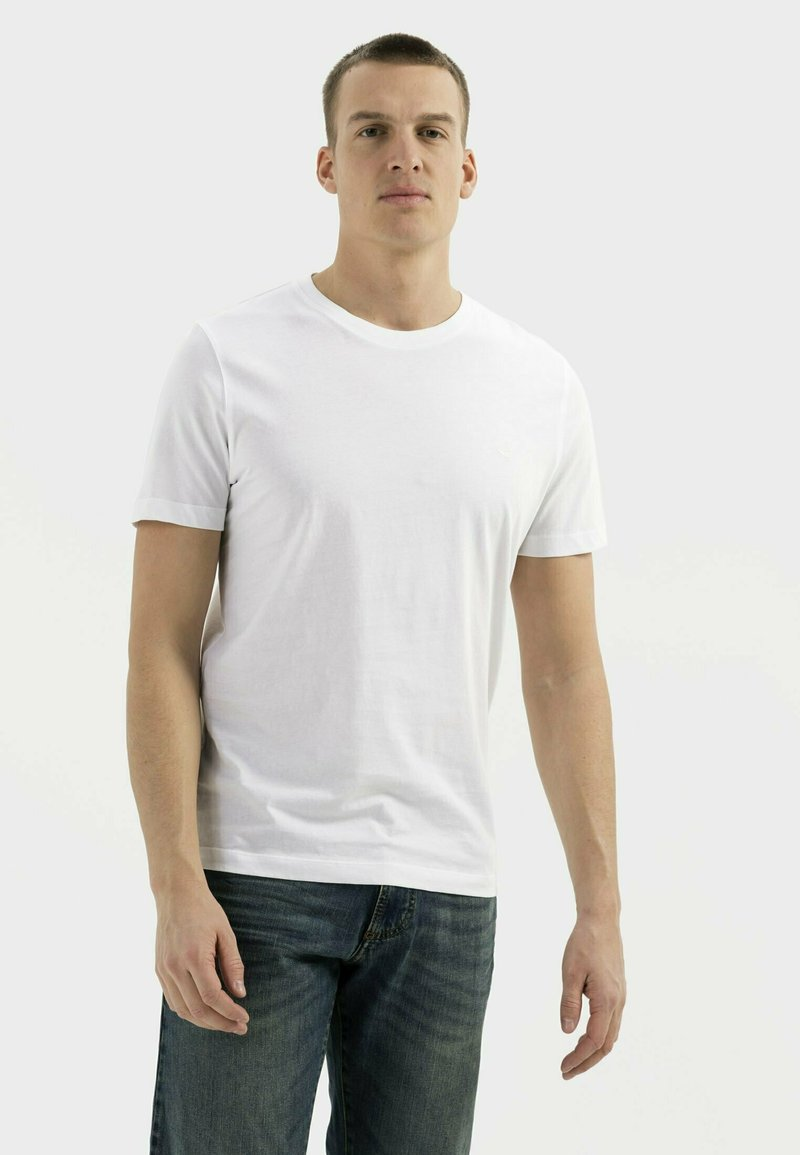 camel active - Basic T-shirt - broke white