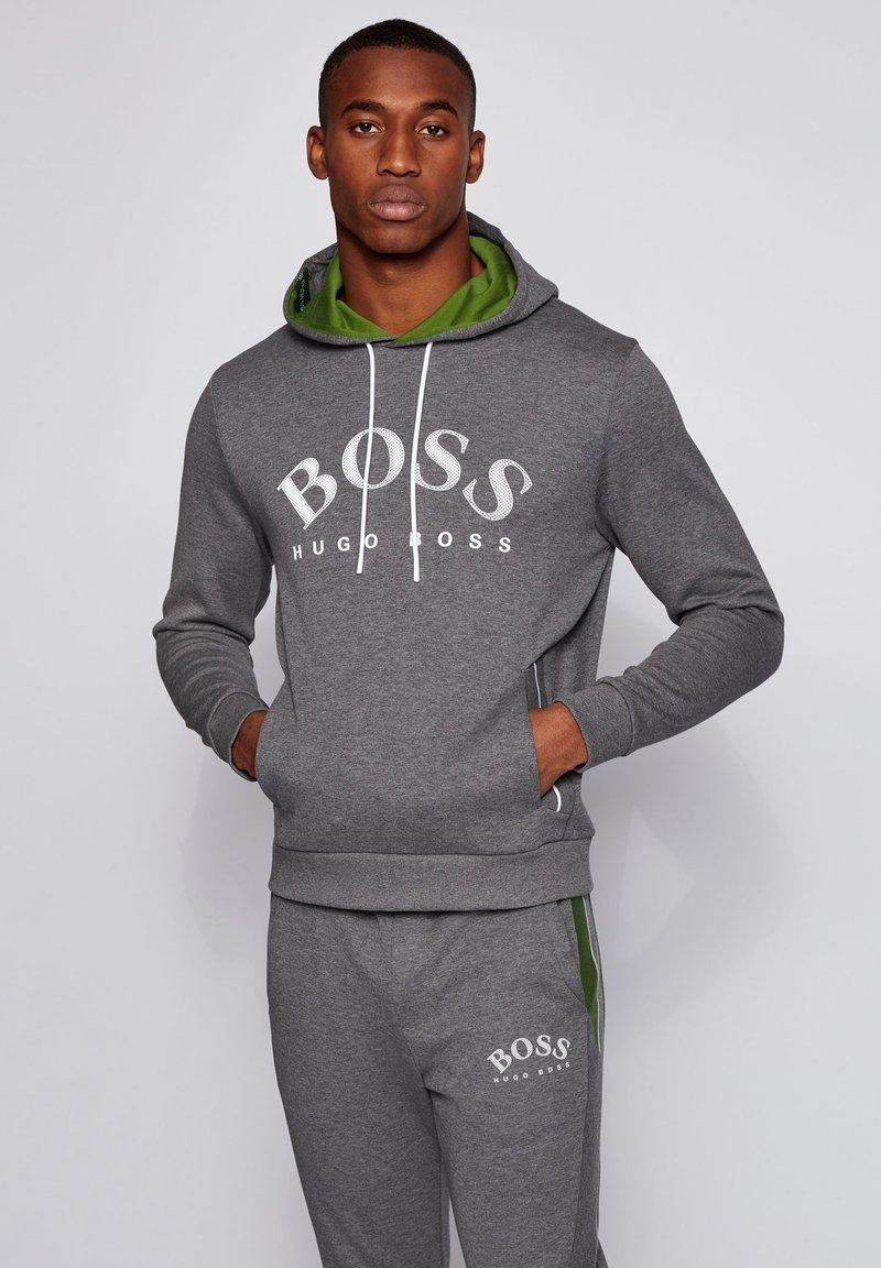 BOSS - SOODY - Hoodie - grey
