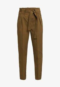 YAS - YASTUDOR PANT - Trousers - military olive - 4
