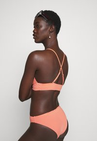 ONLY - ONLKITTY SET - Bikini - red clay/cloud dancer - 4