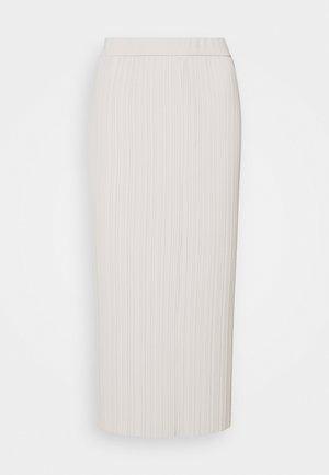 RARO - Plisovaná sukně - white