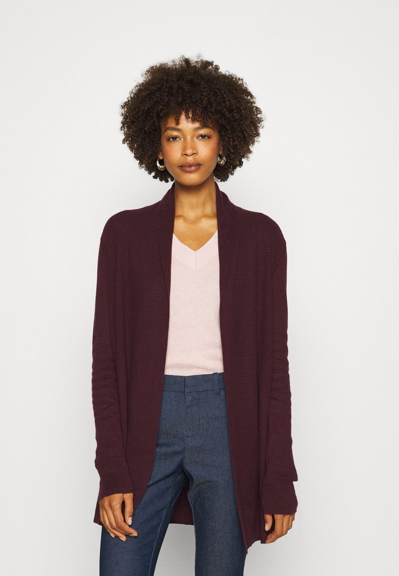 GAP - BELLA THIRD - Strickjacke - vamp red