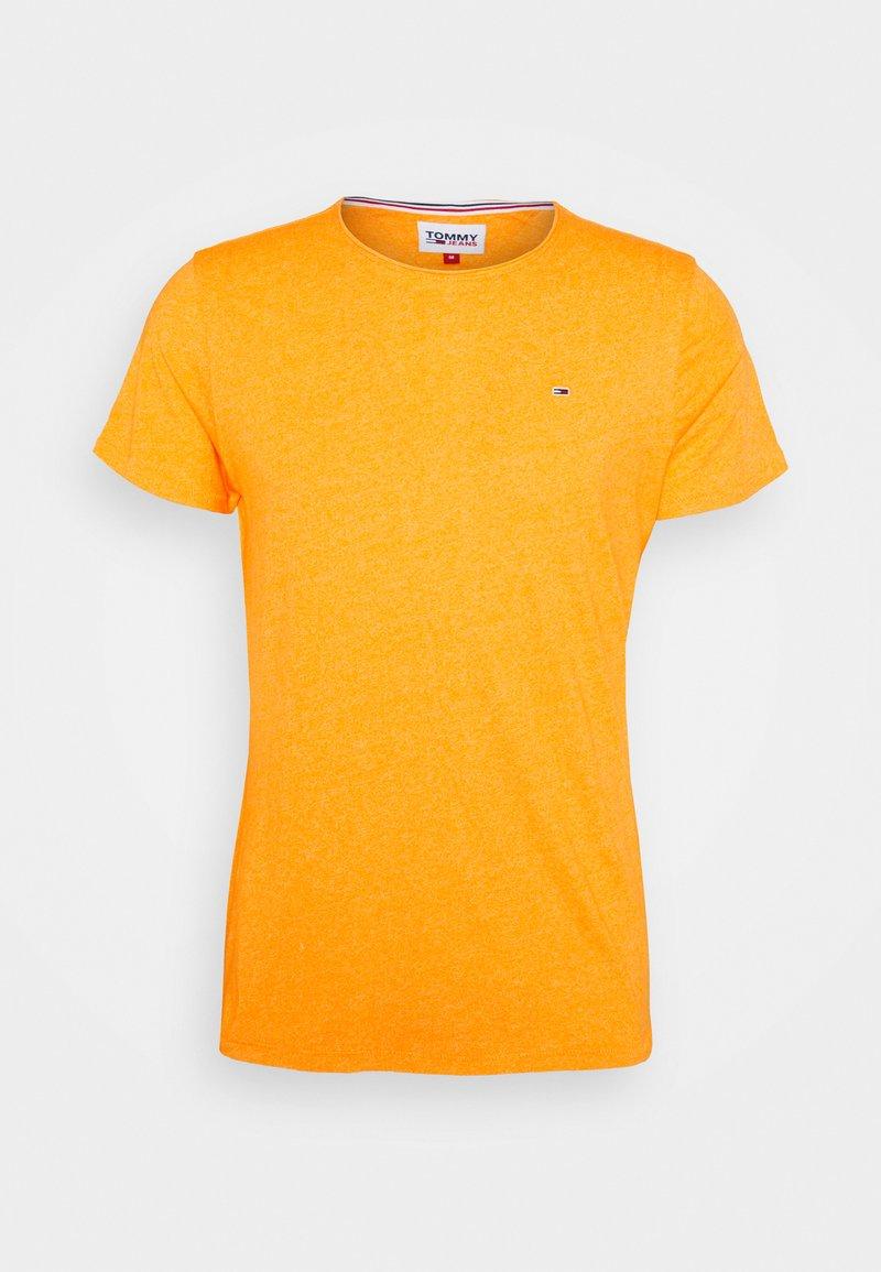 Tommy Jeans - JASPE NECK - Basic T-shirt - yellow