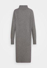 CLOSED - WOMEN´S DRESS - Jumper dress - grey heather melange - 1