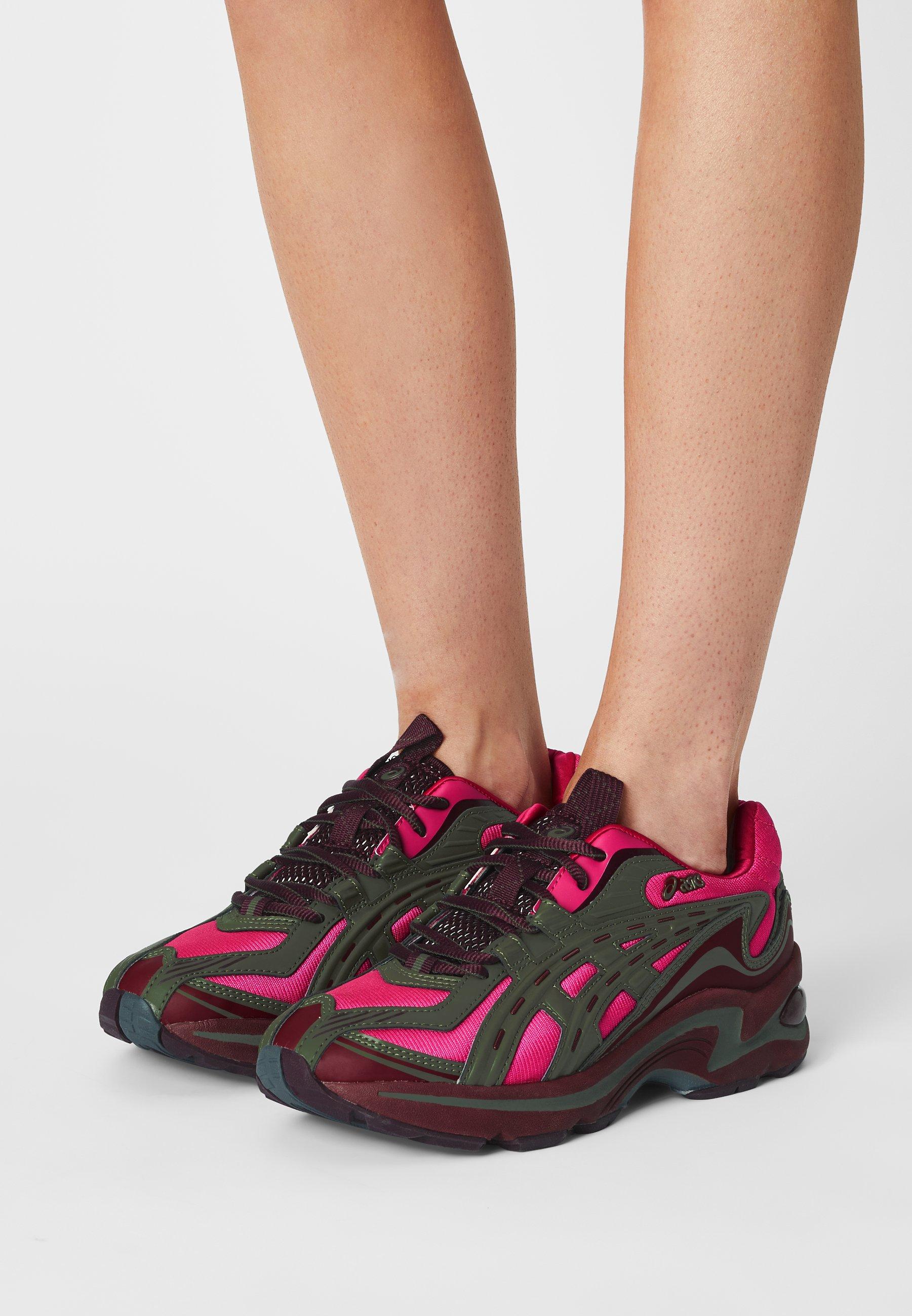 Women GEL-PRELEUS - Trainers - pink rave/olive